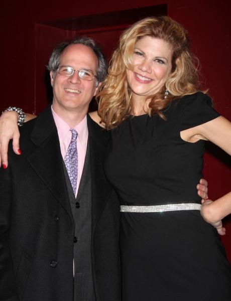 Director Jonathan Bank and Kristen Johnston Photo